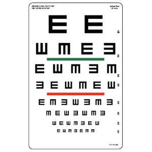 exámen optométrico