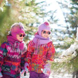 gafas de sol en invierno